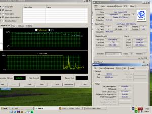 gyári órajelen CPU hőmérséklet