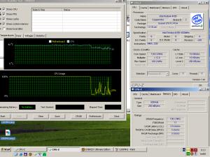 1200MHz-en CPU hőmérséklet