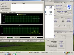 1250MHz-en CPU hőmérséklet