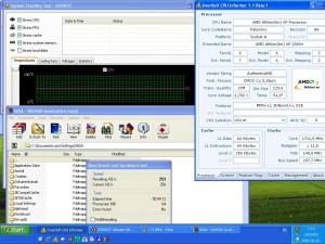 1711MHz-en CPU Hőmérséklet