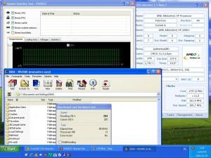 1757MHz-en CPU Hőmérséklet