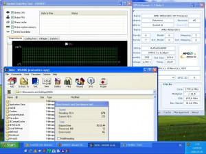 1792MHz-en CPU hőmérséklet