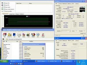1810MHz-en CPU hőmérséklet