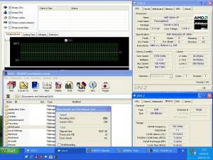1880MHz-en CPU hőmérséklet