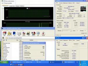 2088MHz-en CPU hőmérséklet