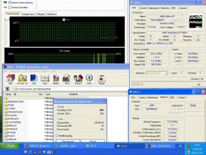 2160MHz-en CPU hőmérséklet