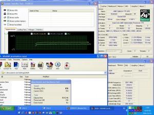 2500MHz-en CPU hőfok