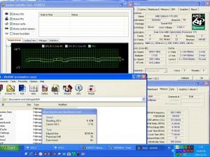 3050MHz-en CPU hőmérséklet