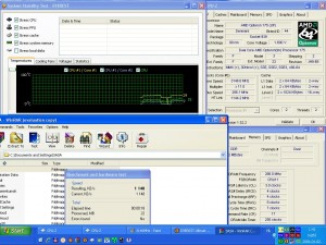 3146MHz-en CPU hőmérséklet