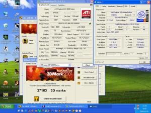 3Dmark2001 P4 EE+HD3850