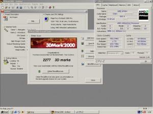AMD Athlon SLOT-A 750MHz+Ati Rage Fury PRO