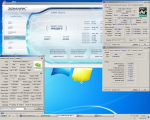 Opteron165@3033MHz Geforce8600GTS 3Dmark Vantage