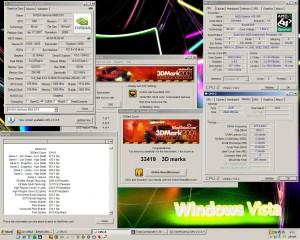 Opteron165@3033MHz Geforce8600GTS 3Dmark2001