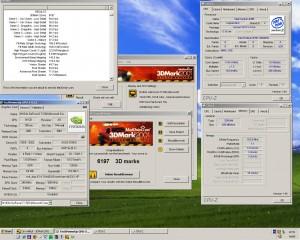 Pentium 3 ES 1150MHz+Geforce3 TI500 3Dmark2001