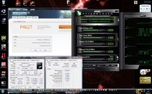 Phenom II X4 4,3GHz Radeon HD5850 3Dmark11