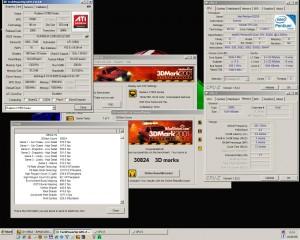 Radeon x1950xtx + E2200@3250MHz 3Dmark2001