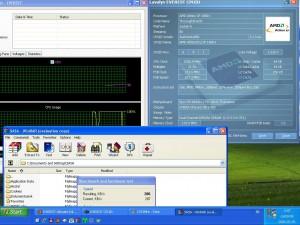 1533MHz-en CPU hőmérséklet