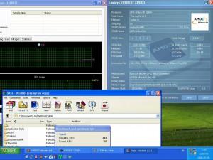 2137MHz-en CPU hőmérséklet