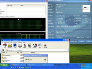 2194MHz-en CPU hőmérséklet