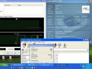 2685MHz, és az elvi CPU hőmérséklet