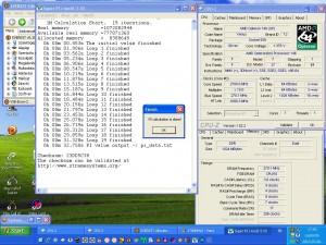 2700MHz-en Super PI