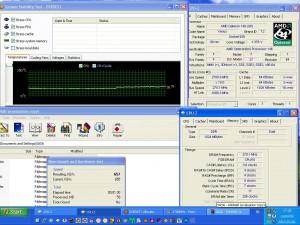 2700MHz-en CPU hőmérséklet