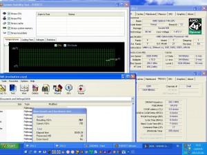 2920MHz-en CPU hőmérséklet