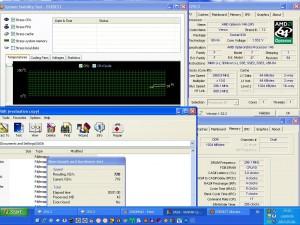 2960MHz-en CPU hőmérséklet