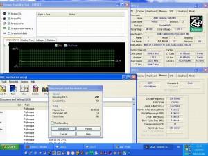 alap órajelen CPU hőmérséklet, és Winrar