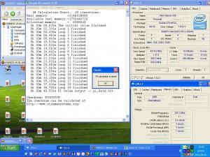 4309MHz-en a super PI