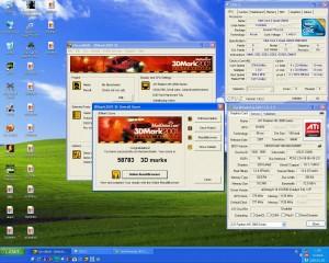 3750MHz-en 3Dmark2001