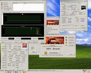 1684MHz és a 3Dmark2001