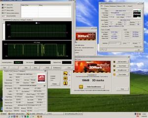 2210MHz és a 3DMark2001