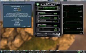950MHz-es GPU órajelen fut az Unigine