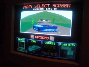 Test Drive 3 főképernyője