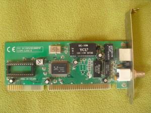 NE2000 kompatibilis Realtek ISA-s LAN csoda