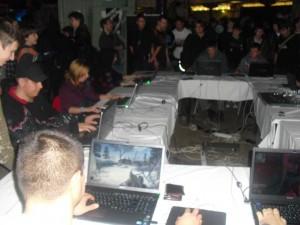 A COD Party laptopokon