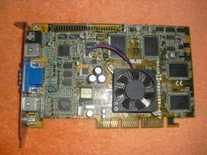 Az első Geforce DDR memóriával, az Asus műhelyéből