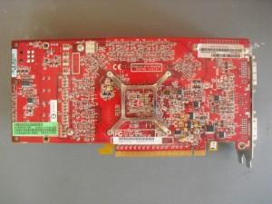 Radeon X1900XTX hátulja