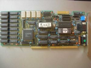 Chips F82C451 EGA-VGA kártya