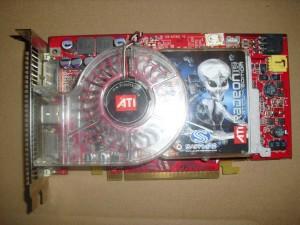 PCIe csatolású Ati X850XT