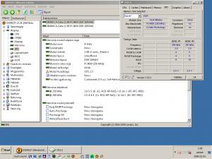 Everest és CPU-Z szerinti paraméterek