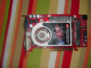 AGP-s ATI Radeon X850XT