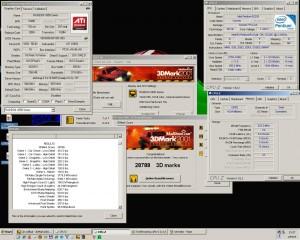 2750MHz-en a 3Dmark2001
