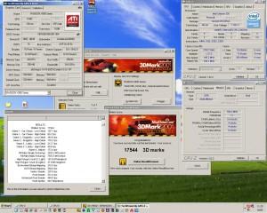 3783MHz-en a 3Dmark2001