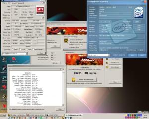 3740MHz és a 3Dmark2001