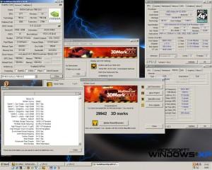 2860MHz-en a 3Dmark2001