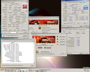3840MHz-en 3Dmark2001