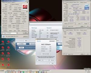 4500MHz-en a 3Dmark2006