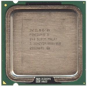 SL8CM, azaz 3,2gigás Pentium D